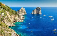 Capri, Anacapri, mini-bus, boat trip & Blue Grotto