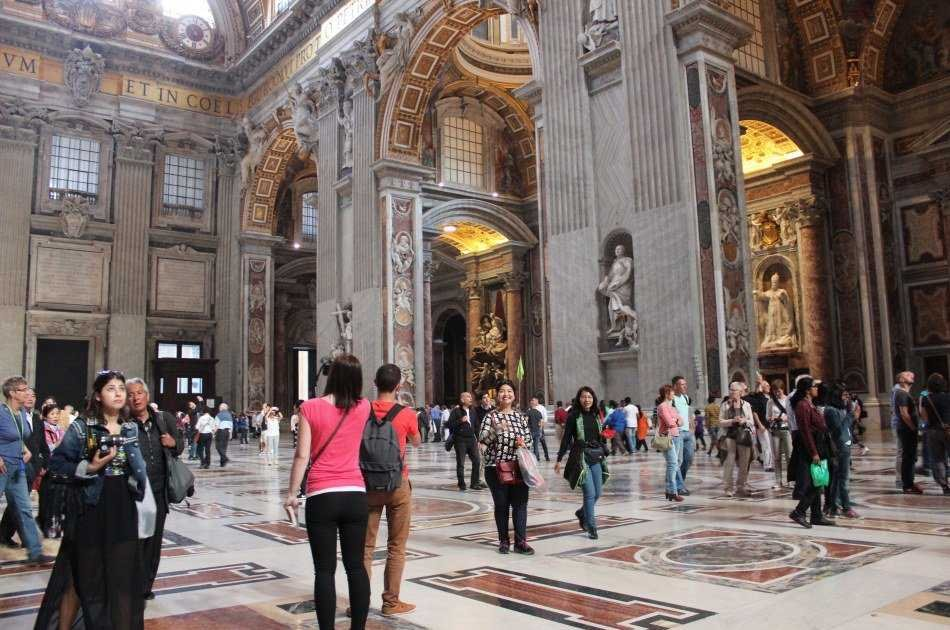 One Day Combined Tour -  Vatican & Colosseum Skip the Line Group Tour Including Pickup