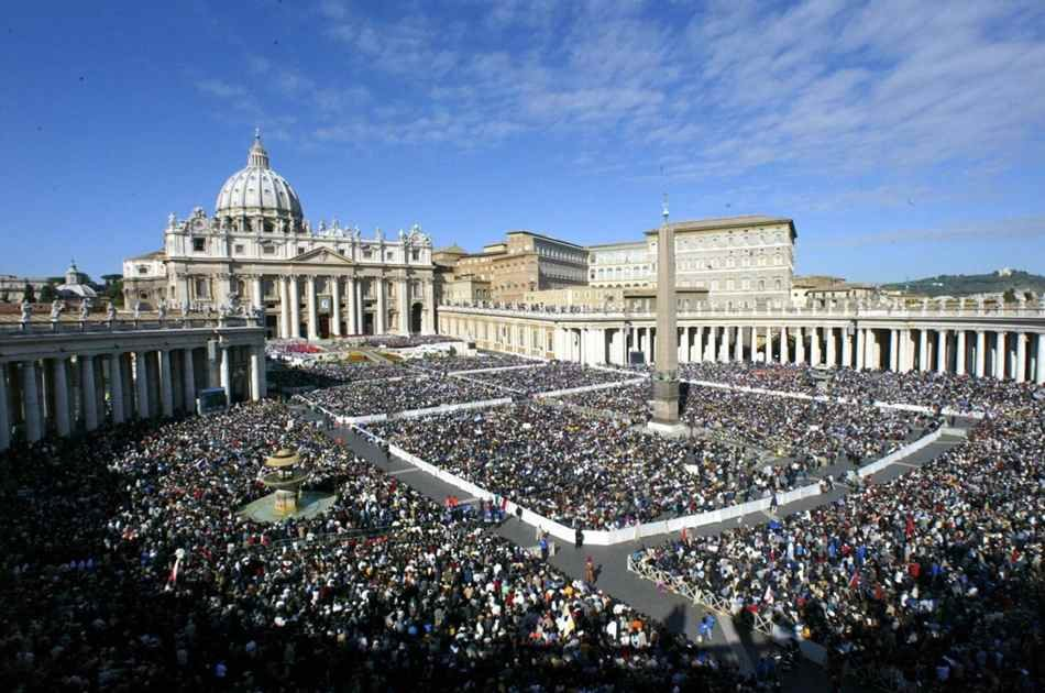 Papal Audience With Pope Francis in Vatican City