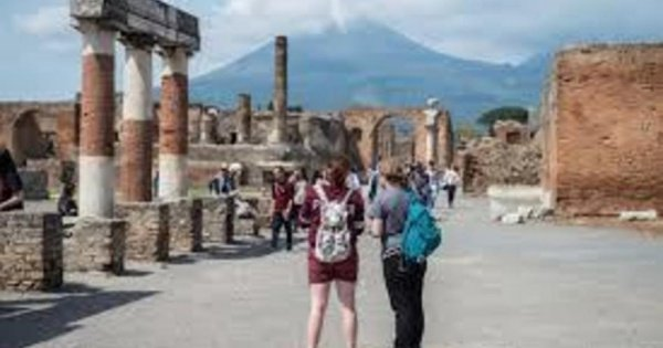 Pompeii Guided Tour, with Lunch on a Wine Farm From Campania