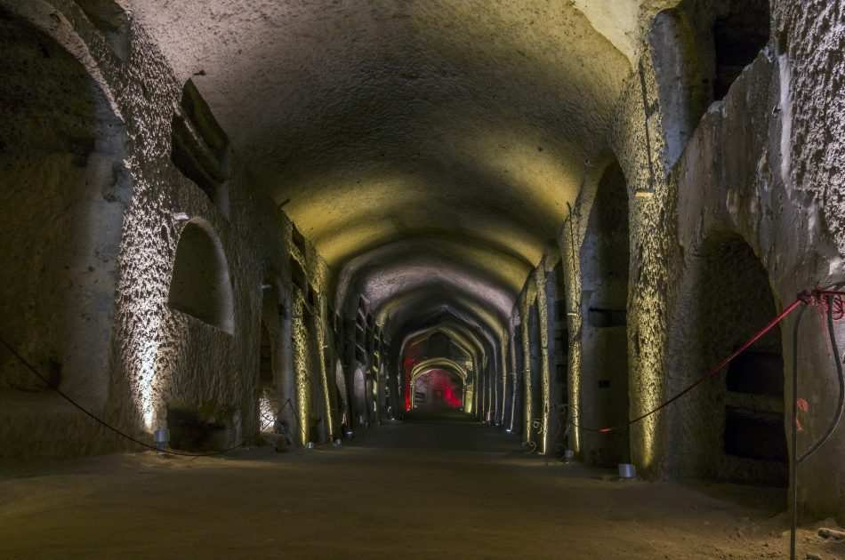 Pompeii Ruins and Naples Private Full-Day Tour from Rome