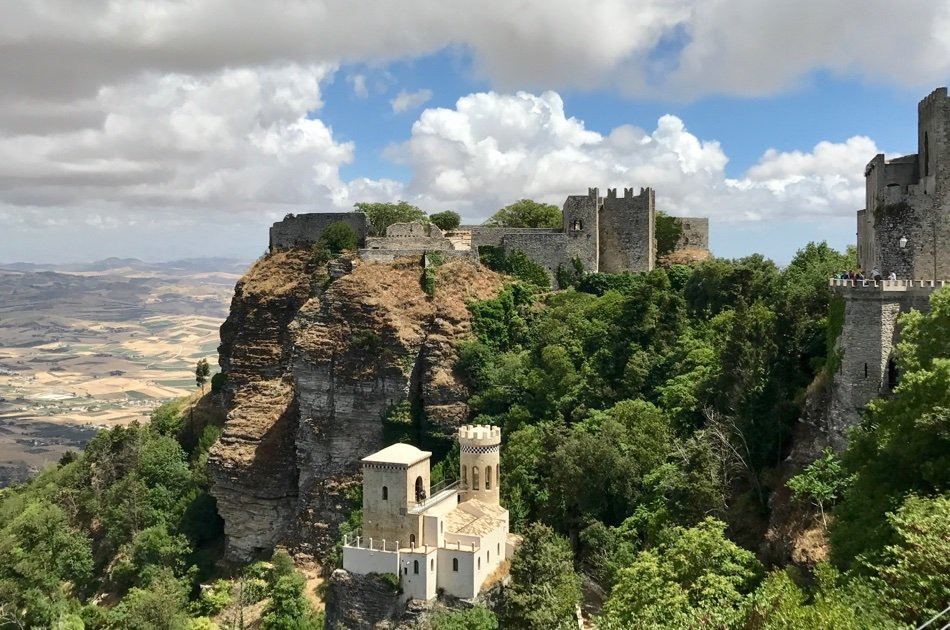 Private Marsala, Erice & Salt Pans Tour from Trapani