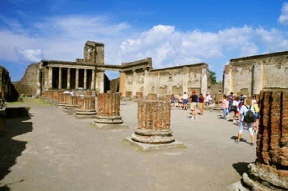 Private Pompeii - Vesuvius - Sorrento Tour 1 Day Tour