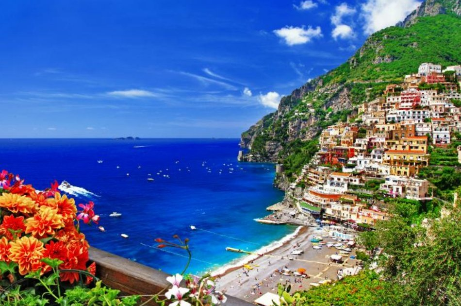 Private Tour of Positano, Sorrento and Pompeii with Guide