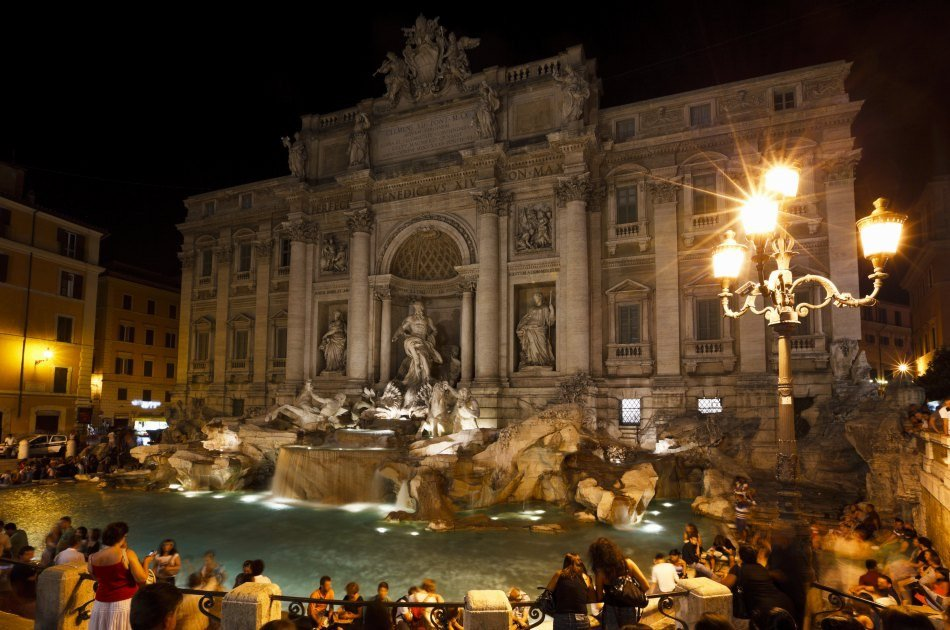 Private Walking Tour of Rome At Night