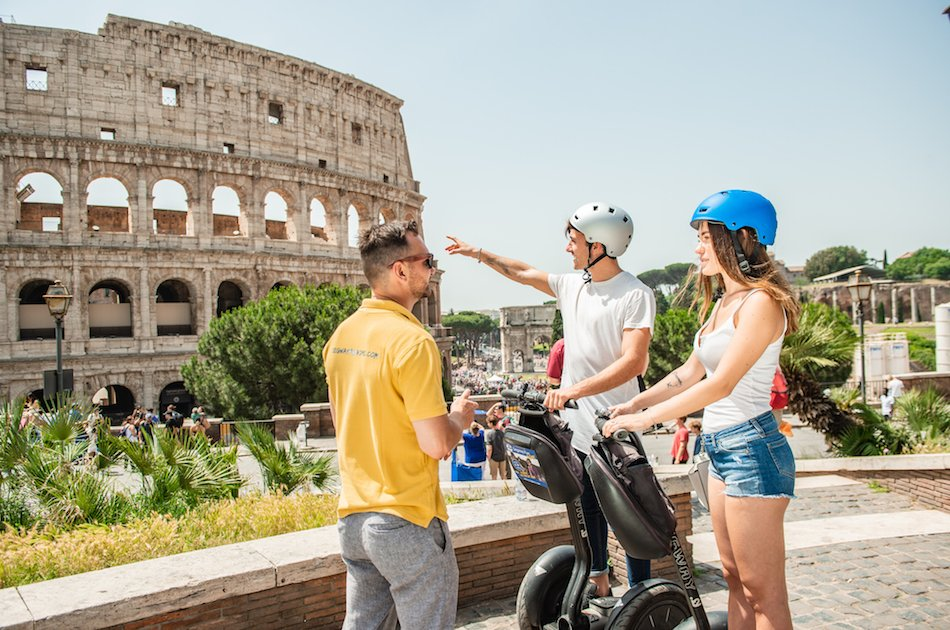 Segway Grand City Tour in Rome