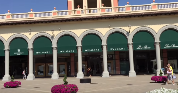 Serravalle Outlet Designer - Afternoon Tour