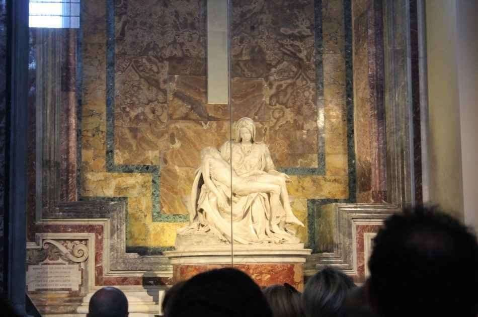 Skip the Line Afternoon Group Tour: Vatican Museums, Sistine Chapel, St.peter's Basilica