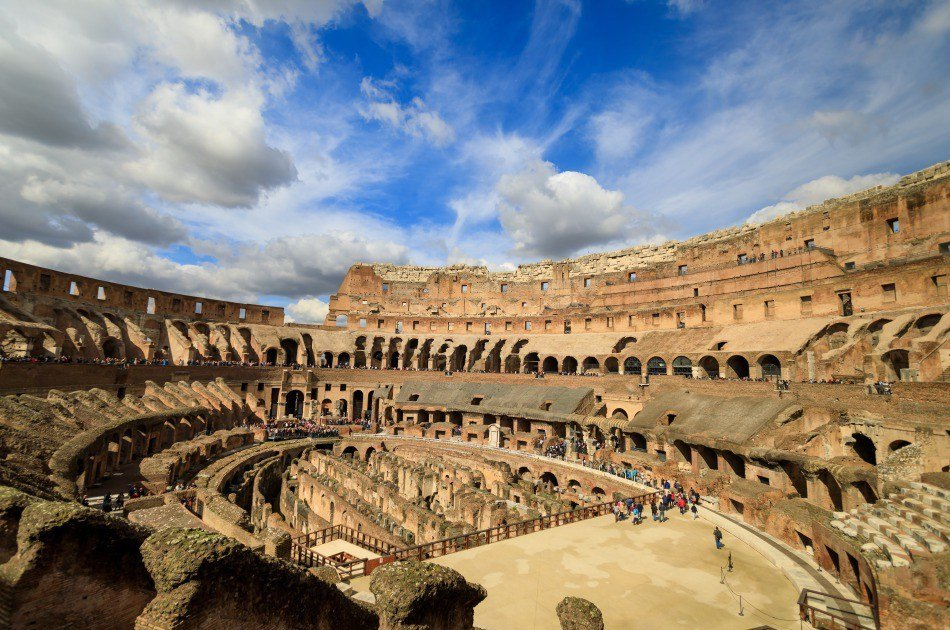 Small Group Ancient Rome Tour Including Arena Pass