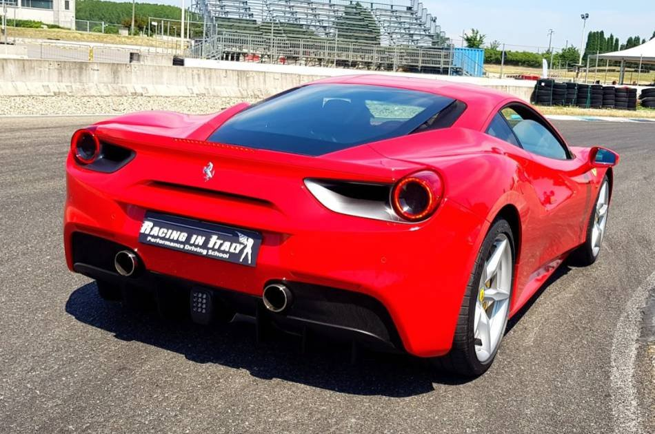 Street Test Drive a Ferrari California in Milan