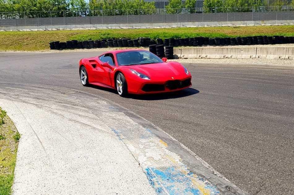 Test Drive a Ferrari 488 In Milan