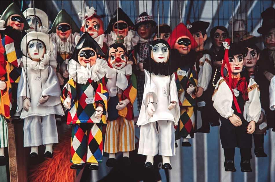 The Secret Workshop of the Venetian Puppets