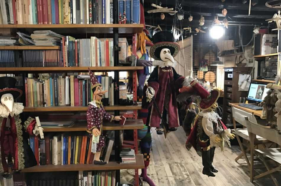 The Secret Workshop of the Venetian Puppets