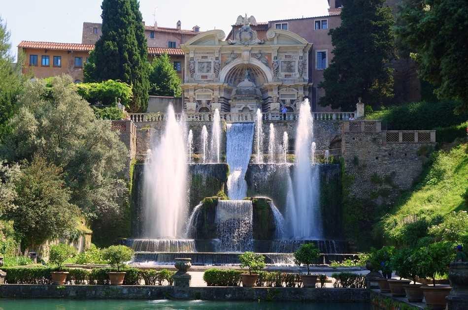 UNESCO JEWELS: Villas of Tivoli Group Tour