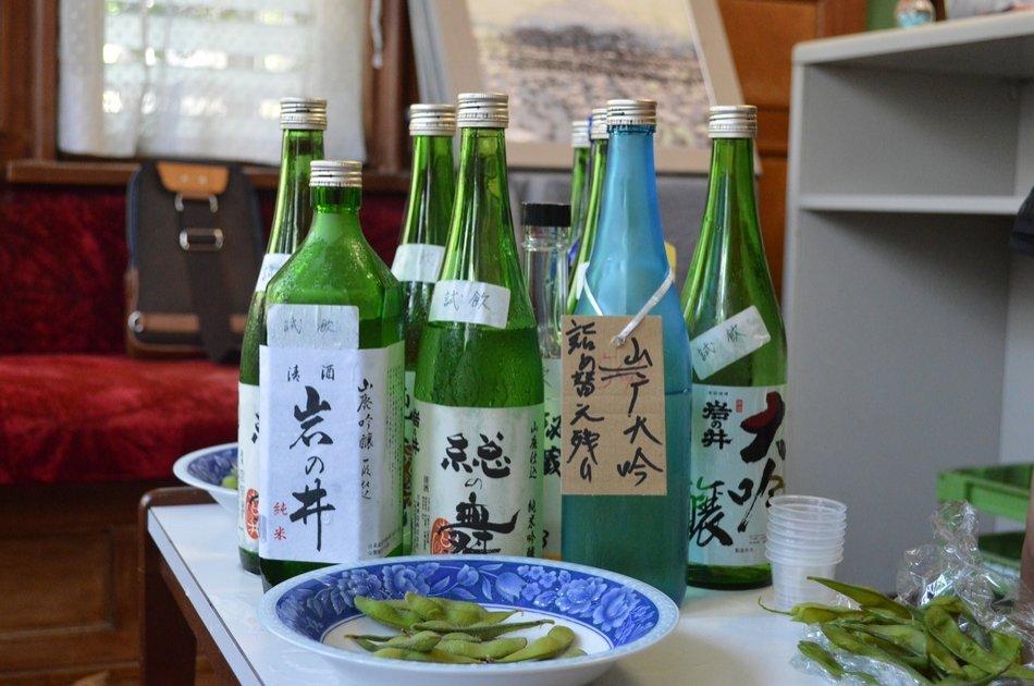 Hidden Namba Sake Tour