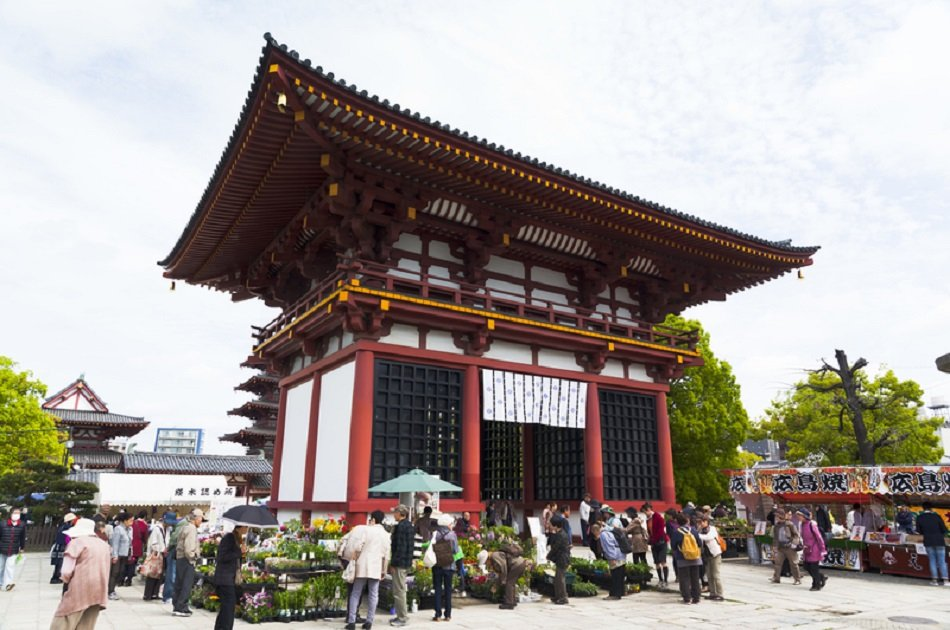 Osaka Shrine and Temple Tour