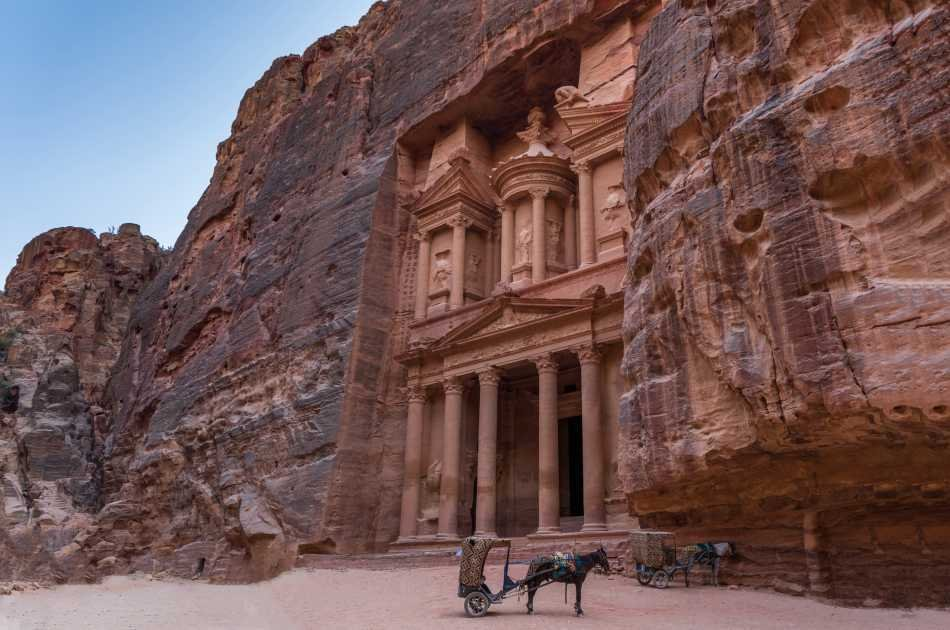Private Full Day Petra Day Trip From Amman