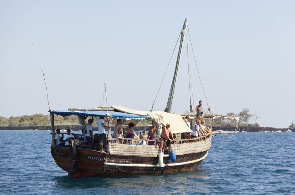 Full-day Wasini Island Tour With Sea Food Lunch From Mombasa