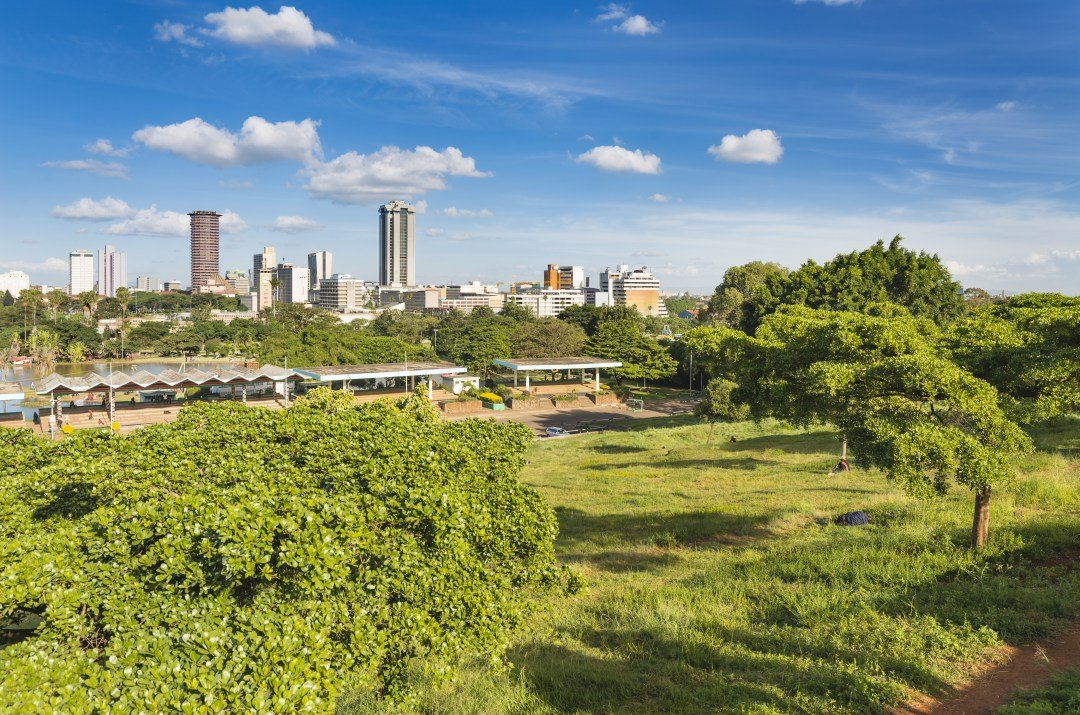 Don't Be Nervous At The Nature Reserve In Nairobi On