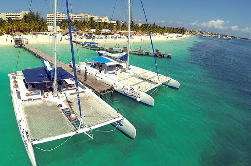 4 Hour Catamaran SB Tour (up to 40 people)