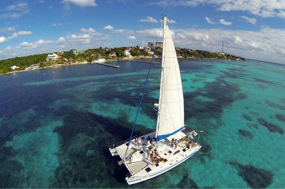 4 Hour Private Catamaran SB Tour ( up to 45 people)