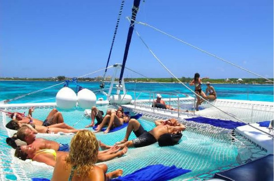 4 Hour Private Catamaran SP (75 Feet) (up to 100 people)