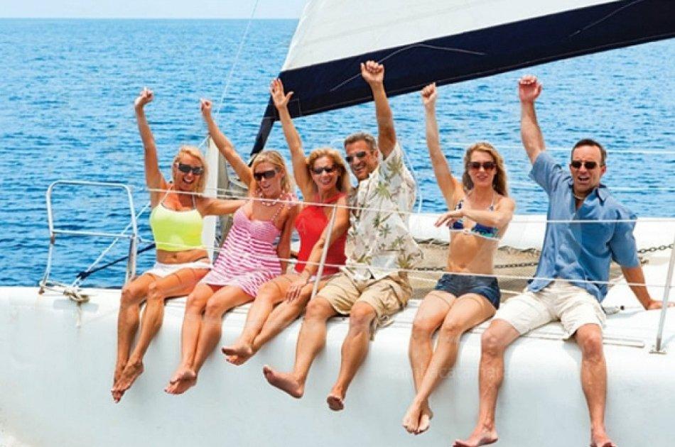 7 Hour Catamaran Private Tour in Our Big Cat (68 Feet) Boat