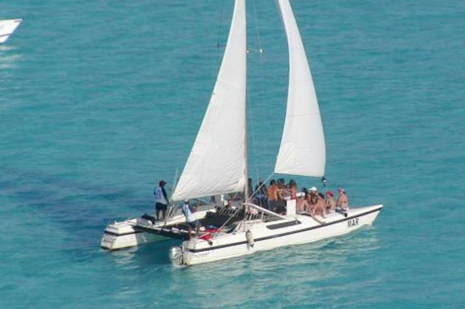 7 Hour Deluxe Catamaran Private Tour (up to 30 people)