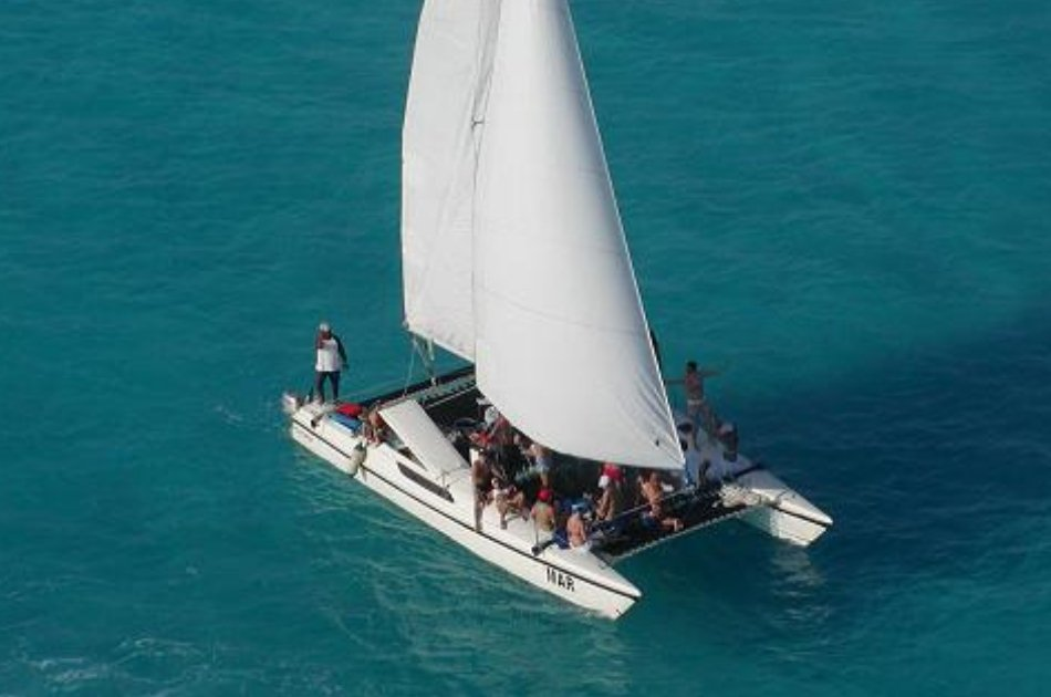 7 Hour Isla Mujeres Catamaran Mr 36 Private Tour (up to 20 people)
