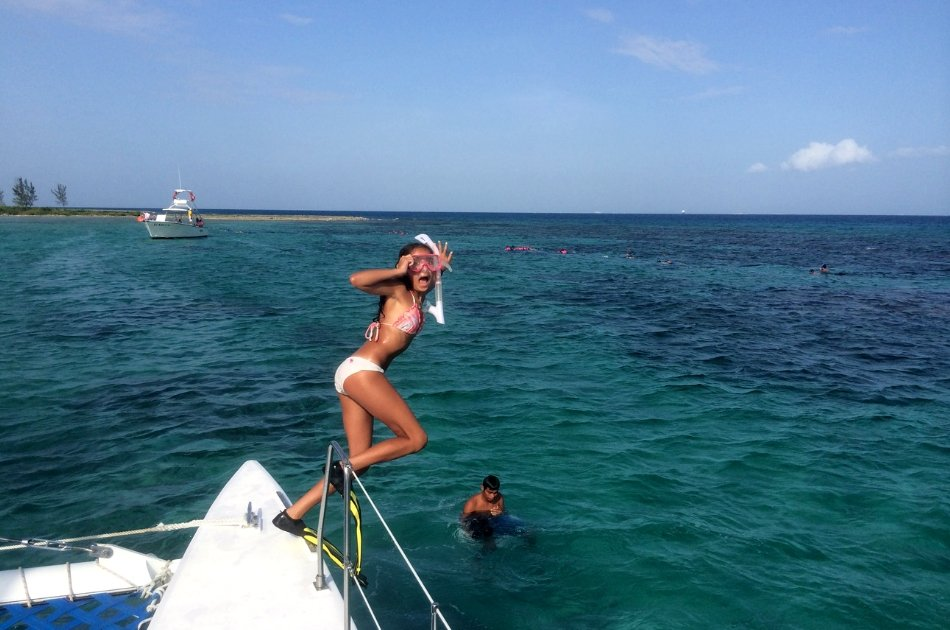 7 Hour Private Catamaran SB Tour ( up to 45 people)