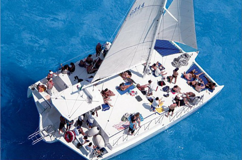 7 Hour Private Neptuno Trimaran Tour (up to 60 people)