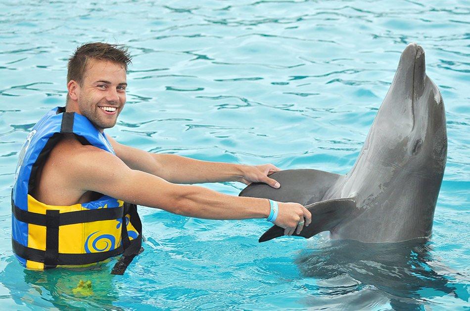 Dolphin Encounter in Isla Mujeres