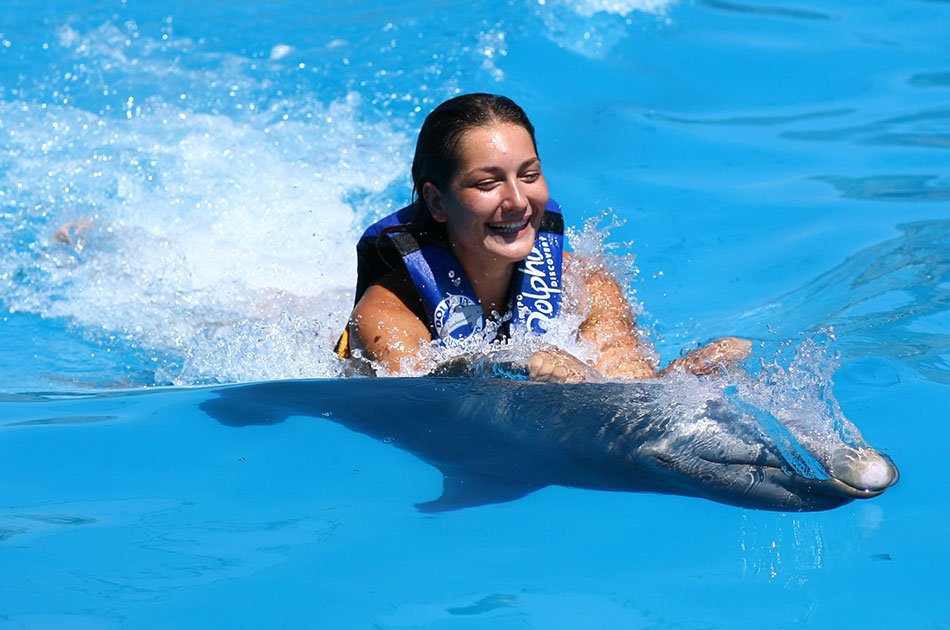 Dolphin Swim Adventure in Isla Mujeres
