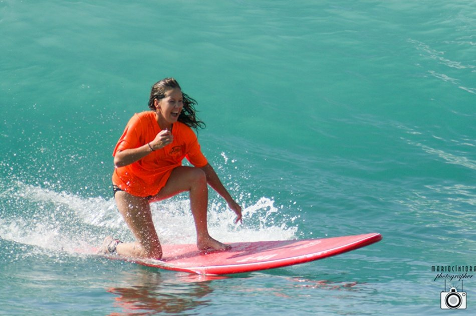 Exciting Surf Lessons at Costa Azul, Cabo