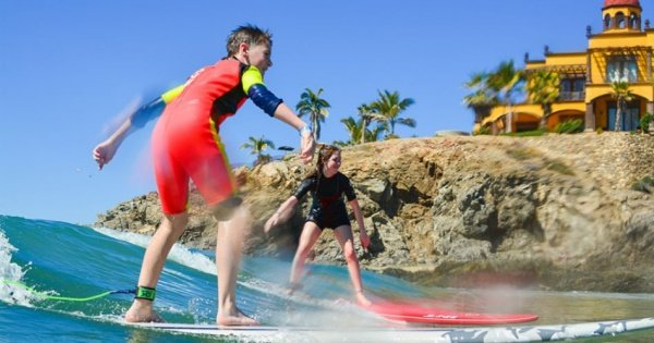 Learn to Surf with Excellent Lessons at Cerritos, Cabo