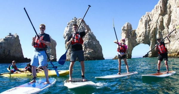 Los Cabos Guided Stand Up Paddle and Snorkel at the Arch
