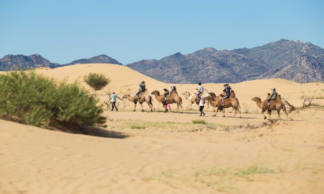 Taste of Historical Mongolian Nomadic Life