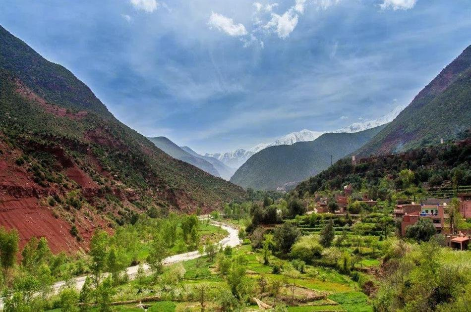 Day Trip to Atlas Mountains & 3 Valleys from Marrakech with Lunch & Camel Ride