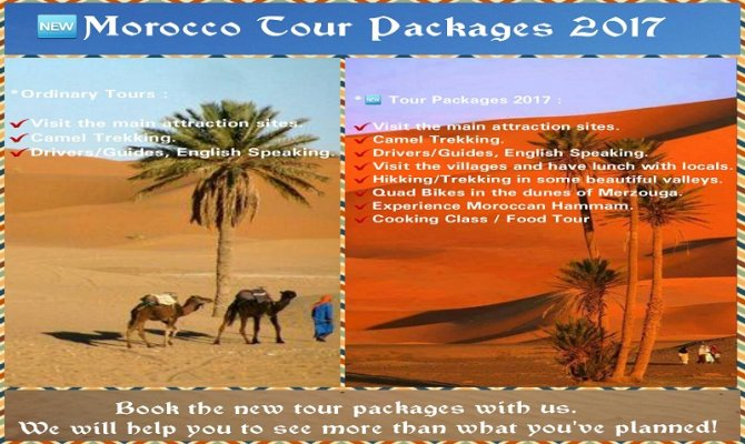Morocco Tours | Desert Tours from Marrakech and Fes
