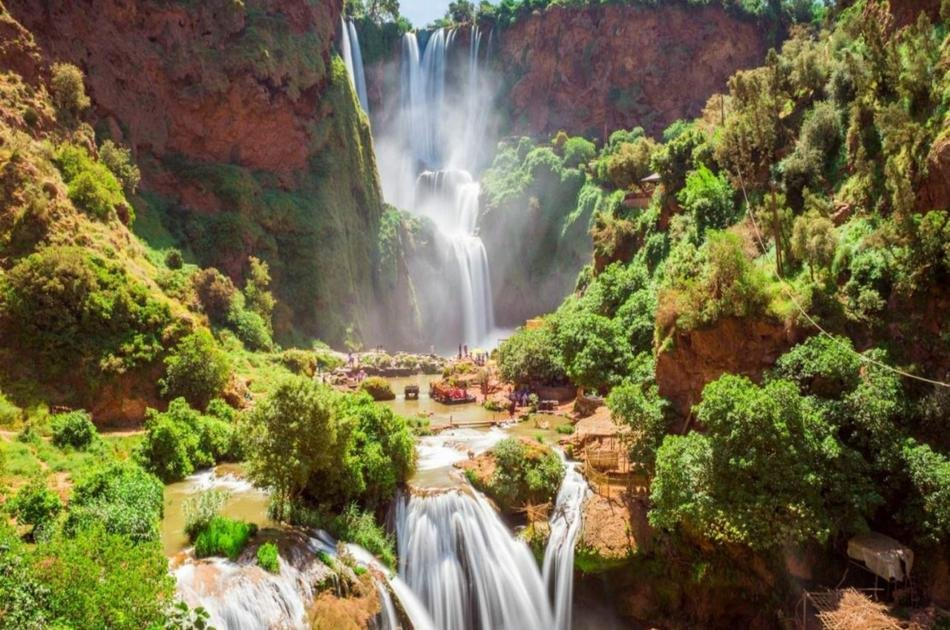 Private Day Trip from Marrakech to Ouzoud Waterfalls With Lunch and Boat Ride