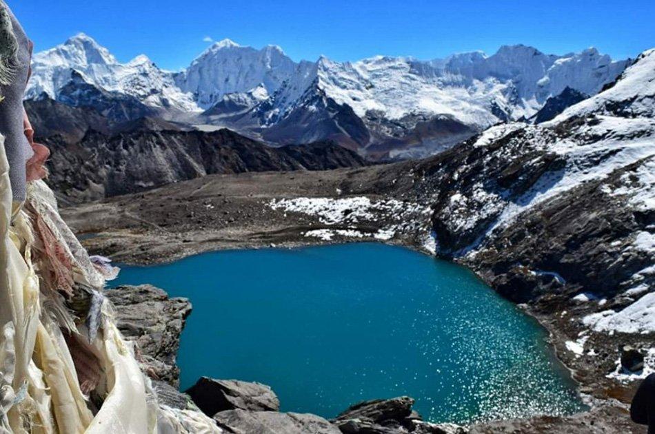 17 Day Everest Base Camp Trek with Gokyo Ri,Cho La Pass & Kalapatthar