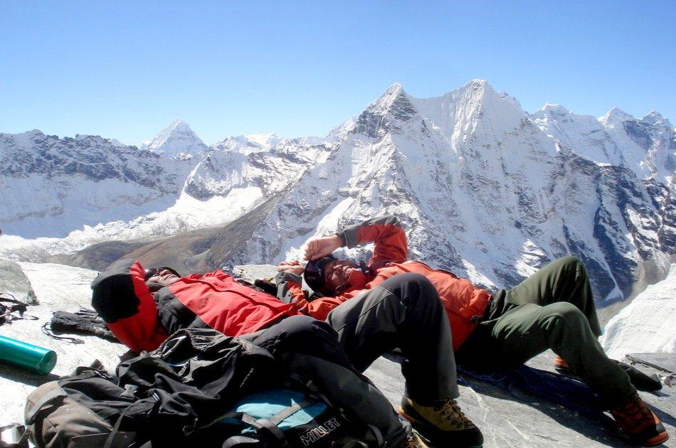 21 Days Island Peak Climbing from Kathmandu