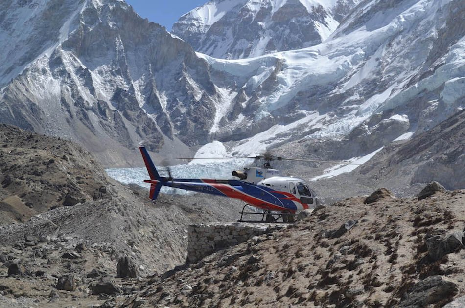 Everest Base Camp Helicopter Landing Private Tour
