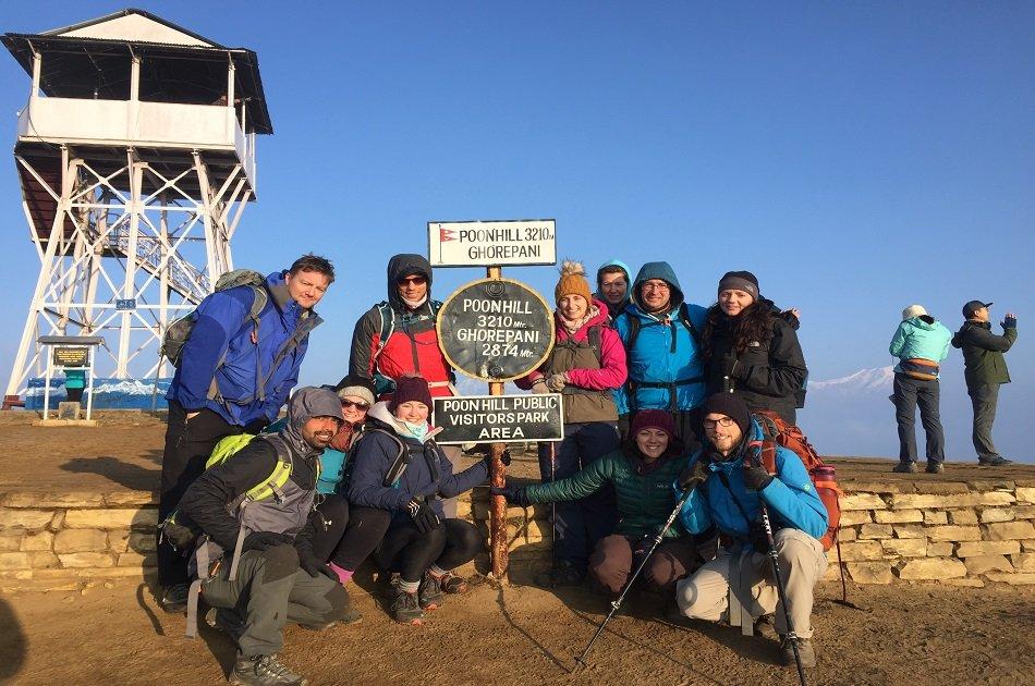 Ghorepani Poon Hill Trek from Pokhara Nepal
