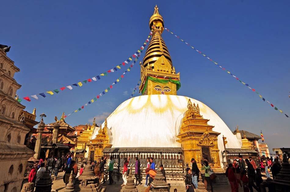Half day Kathmandu City and Swayammbhunath Private  Tour