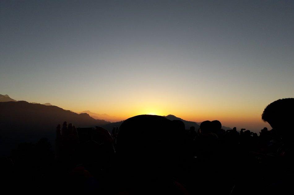 Sarangkot sunrise and hiking