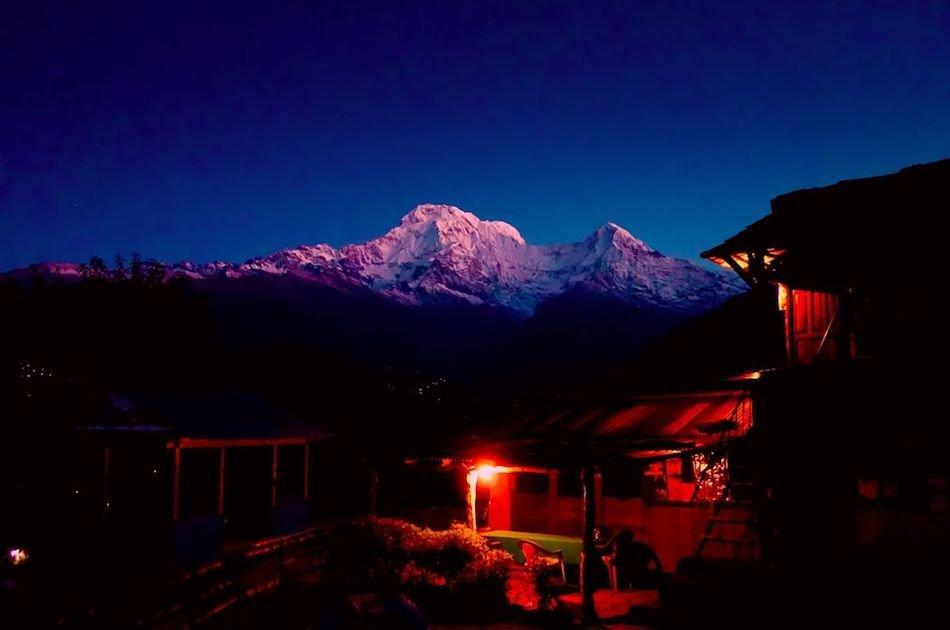 Short Annapurna Base Camp Trek 10 Days