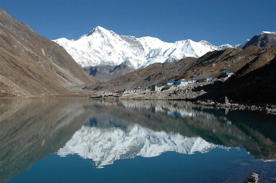 Short Everest Base Camp Trek from Nepal.