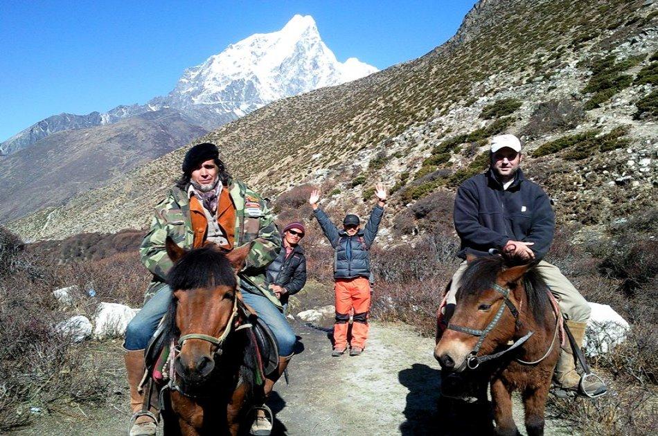 Tibetan Horseback Riding Trek to Everest Base Camp, 14 Days