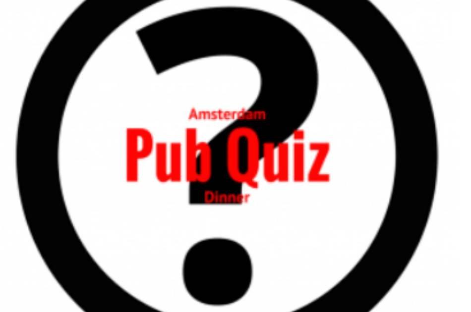 Amsterdam Pub Quiz Dinner